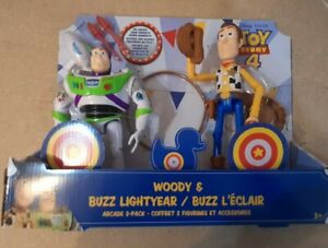 Toy story woody and Buzz lighttlyear arcade pack Toy