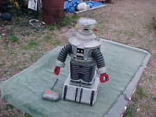 """Collectible LOST IN SPACE 24"""" Tall B9 Remote Control Robot 1998 Space Production"""