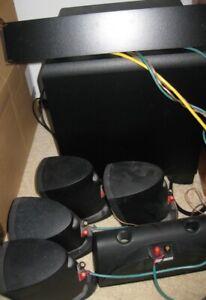 Klipsch Home Theater Surround Sound Speaker System with Russound Sub