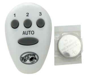 Hampton Bay Wireless Remote Control With Auto Button