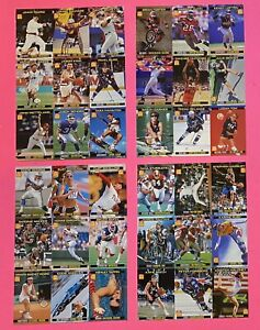 (4) 1998 SI for Kids - 9 Card UNCUT Sheets, 7,8,9,12/1998. Many Stars-See Pics