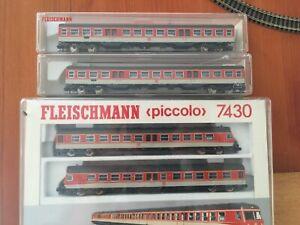 Fleischmann 7430 Spur N + 2 Personenwagen