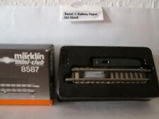 Märklin 8587 Entkupplungsgleis gerade 55mm Spur Z OVP