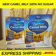Original Camel Milk Powder halal NO SUGAR high calcium 25 gram x 20's 12 boxes