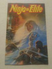 Ninja Elite #2 July 1987 Adventure Comics
