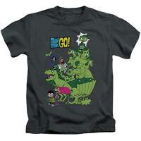 TEEN TITANS GO BEAST BOY STACK Licensed Kids Graphic Tee Shirt 4 5-6 7