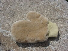 Sheepskin Wool Car Wash Mitt Household Washing Cleaning Glove