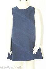JACADI Girl's Broche Navy Blue Knee Length Sleeveless Dress Age: 6 Years NWT $64