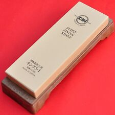 Japan Big waterstone whetstone sharpening KING S-1 #6000 SUPER FINISH STONE