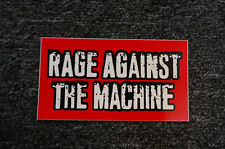 Rage Against The Machine Sticker (S174)