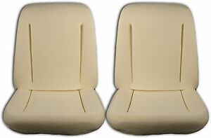 1966 Chevrolet Nova Seat Foam Set