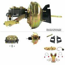 """1973-87 Chevrolet C10 Truck FW Mount Power 8"""" Single Brake Booster Kit Disc/Drum"""
