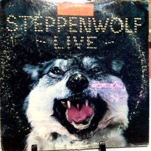 STEPPENWOLF Live Double Album Released 1970 Vinyl/Record  Collection US pressed