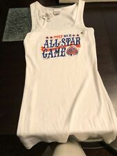 MLB All-Star Game 2013 White Ladies Tank Top  Size XL ~ 5th and Ocean NWT Vintag