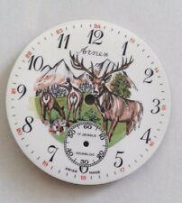 Eaglestar -Arnex enamel pocket watch dial for UT- 6498 Movement  37.5 mm