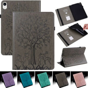Shockproof PU Leather Case Cover w/ Card Slots For Apple iPad Mini Model Tablet
