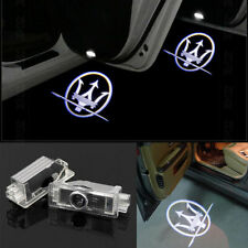 2x CREE LED Door Courtesy Laser Shadow Lights For MASERATI Quattroporte Ghibli