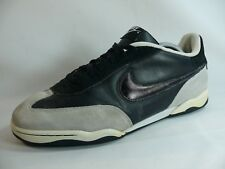 Men's NIKE Shoe Size-US11/EUR45 BlackGray Leather Non-Mark Athletic Sneakers L40