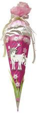 """Schultüte Bastelset """"Einhorn"""" B-Ware!!  Pferd pink 68cm Mädchen ROTH Zuckertüte"""