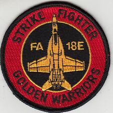 VFA-87 GOLDEN WARRIORS FA-18E SHOULDER PATCH