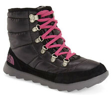 The North Face Women's Thermoball Lace-up Boots Black-Pink Size 7 New In Box