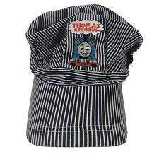 Thomas The Train and Friends Striped Engineer Conductor Hat Cap Kids 90's