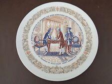 Henri D'Arceau Limoges Lafayette Collection Plate #1 (Cat.#3B009)