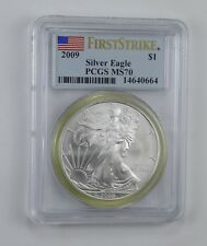 MS70 2009 American Silver Eagle - First Strike - Graded PCGS *530