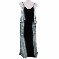 Swimsuits For All Women's Plus Size 18/20 Tie Dye Maxi Swim Coverup Dress
