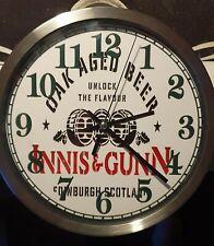 Innis and Gunn oak aged beer Clock man cave bar