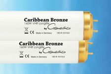 25 x Brand New Sunbed Tubes Caribbean Bronze VHR Longlife 160W by COSMEDICO 3,3