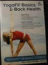 Yogafit Basics & Back Health, Very Good DVD, Chrys Kub,Beth Shaw,