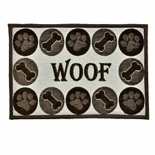 Loving Pets Bella Fashion Mat for Dogs, Woof Chenille