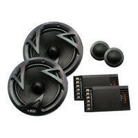 """NEW Power Acoustik Reaper 6.5"""" Component 500 Watts EF60C"""