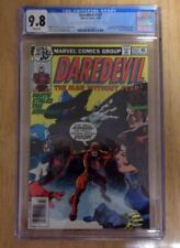DAREDEVIL #157 CGC 9.8 WHITE PAGES 1979 AVENGERS,BLACK WIDOW,DEATH STALKER