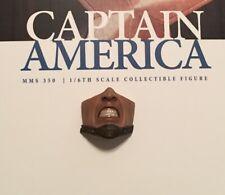 Captain America Civil War lower face sculpt Sideshow Hot Toys MMS 350 1/6