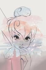 Disney  Bilder Wandbild Keilrahmen Leinwand Kunstdruck Tinkerbell  Art. 006