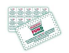 KRISPYKREME Fundraising BOGOCard Does NOT EXP***BUY 1 Dozen & GET1 Dozen***