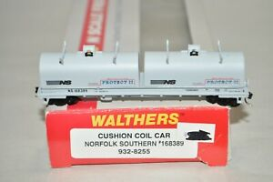 N scale Walthers Norfolk Southern Ry cushion coil car train w/ MTL's