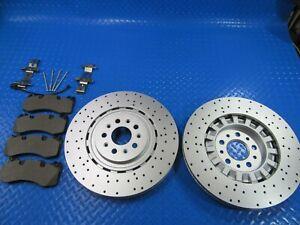 Maserati Levante S front brake pads rotors TopEuro #6909