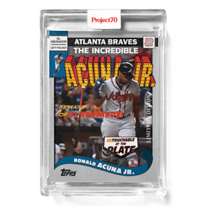 Topps Project 70 Card 286 - 2002 Ronald Acuna Jr. by UNDEFEATED -Presale-