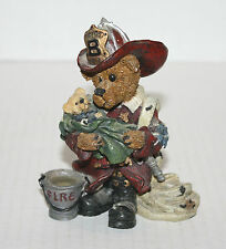 New Boyd's Bears & Friends Beatstone Collection #2280 Elliot. the Hero Figurine
