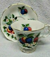 Royal Albert  Orchard Series Sugar Plum Cup and Saucer