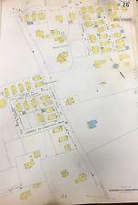 1928 Sanborn Boston Jamaica Plain, Ma. Arborway-Emerson Hospital Plat Atlas Map