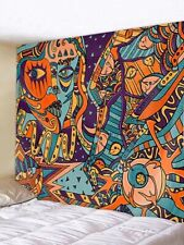 Abstract Women Pattern Tapestry Wall Hangiing Bohemian Tapestry Art Home Decor