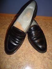 Alden # 6845 Black Shell Cordovan Full Strap Slip-On Loafer Men Shoe SZ#10 B/D