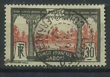 French Colonies, Gabon 1910 Michel 40 used