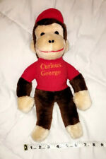 "Curious George Knickerbocker 14"" Plush FREE SHIPPING"