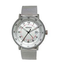 KIENZLE Herren Armbanduhr GMT, Datum, Stahlband, Slim, Modell K15-00952 € 129,00