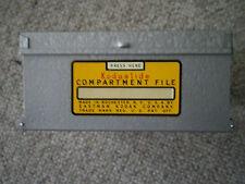 vintage kodak  kodaslide compartment file index 1950,s metal box excellent cond